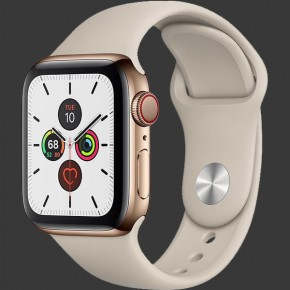 Apple Watch Series 5 Stainless Steel Sport