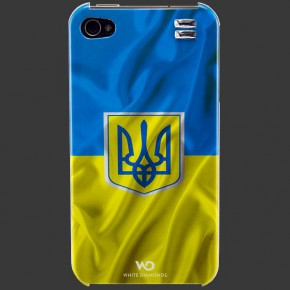 White Diamonds Flag Ukraine 4/4S