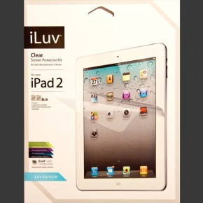 iLuv Matte Screen Protector Kit