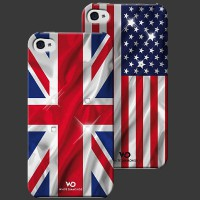 White Diamonds Flag for iPhone 5