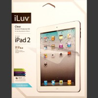 iLuv Clear Screen Protector Kit
