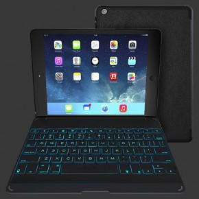 ZAGGkeys Folio Backlit Keyboard for iPad Air