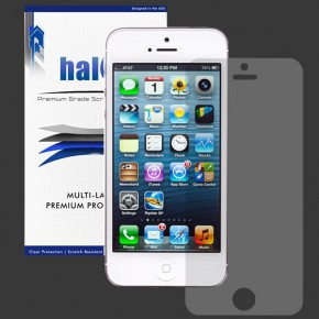 HALO HD Screen Protector for iPhone 5/5S