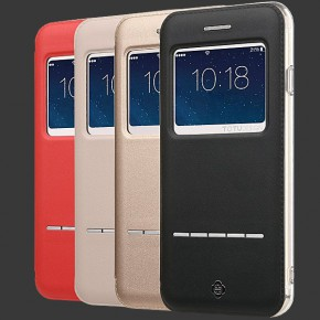 Totu Folio Leather Case for iPhone 6