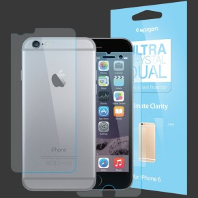 SGP Ultra Crystal Dual Protector for iPhone 6
