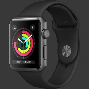 Apple Watch Series 3 GPS Aluminum Case