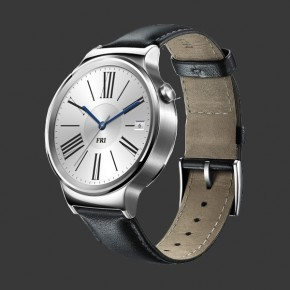 Huawei Watch 42mm Stainless Steel Leather