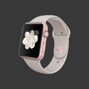 Apple Watch Sport Aluminum (Stone Sport Band)
