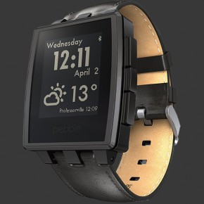 Pebble Steel (Black Matte)