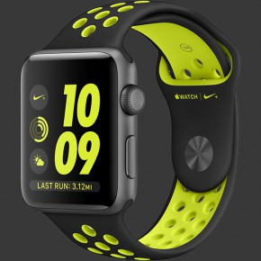 Apple Watch Nike+ 42mm Space Gray
