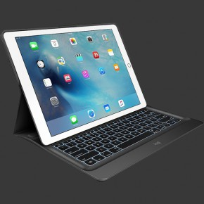 Logitech iPad Pro CREATE Backlit Keyboard Case