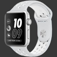 Apple Watch Nike+ 38mm Silver